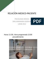 Clase Relacion Medico-paciente