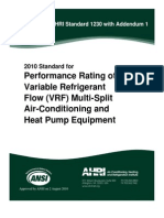 ANSI.ahri Standard 1230 - 2010 With Addendum 1 for Pipes