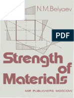 Resistencia de Materiales- N. M. Belyaev- Strength of Materials- Mir