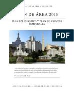 Plan de Area Sudamerica Noroeste 2013 (1)
