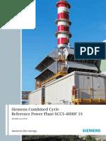 Sgt 800 Factsheet 2017 | Gas Turbine | Cogeneration
