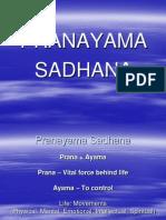 Guruji Pranayama Sadhana