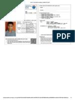 Kartu Tanda Bukti Pendaftaran SBMPTN 2014