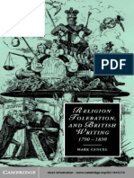 0521815770.Cambridge.university.press.religion.toleration.and.British.writing.1790 1830.Oct.2002