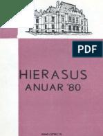 Hierasus III 1980