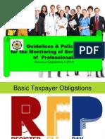 RR 4-2014 Professionals