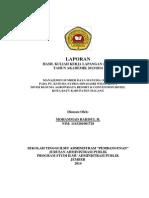 Laporan KKL 2014