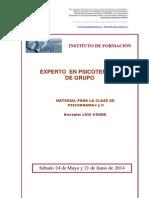 Material Clase El Psicodrama. Teoria y Practica.