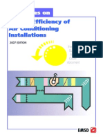 Guidelines on Energy Efficiency of AC Installations 2007