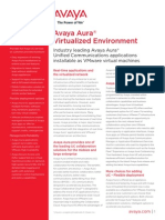 Avaya Aura Virtualized Environment