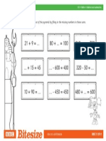 Worksheet Number Pyramid