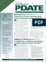 Is Aripiprazole an Effective Maintenance Treatment Option