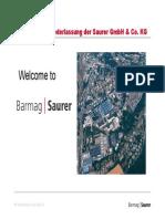 Barmag Saurer Company Products Market