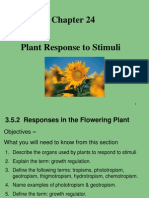 Plant Response to Stimuli