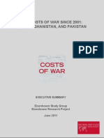 Costs of War Executive Summary