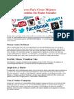 10 Claves Para Crear Mejores Contenidos En Redes Sociales