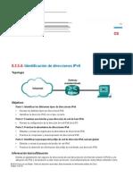 CS 8.2.5.4 Identificación de Direcciones IPv6