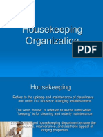Housekeeping Organization