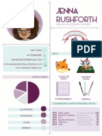 Jenna Rushforth CV