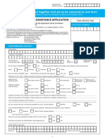 Nsfas Finassist Form