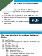 OSH Legislations