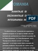 Romania Avantaje Si Dezavantaje Dupa Integrarea in Ue