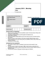 144367 Question Paper Unit f451 01 Computer Fundamentals