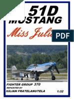 P-51 d Mustang Miss Juliet