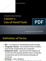 Usage of Hand Tool CHS