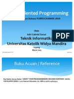 Object Oriented Programming Bab 1