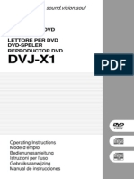 Notice DVJ X1