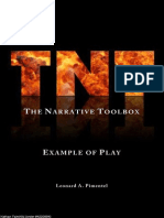 TNT (the Narrative Toolbox) Example of Play