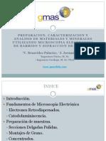Microscopia Electrónica de Barrido y Rayos x