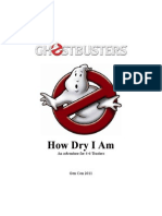 Ghostbusters HowDry