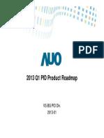 2013 Q1 PID Product Roadmap_2