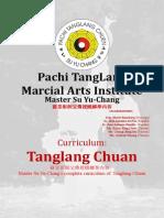 temario tanglang chuan