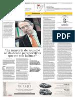 Yolanda Vaccaro Entrevista Presidente Efe en El Comercio