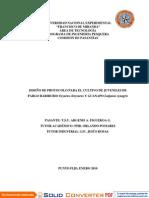 Diseño de Protocolo de Lujanus