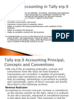 Basics of Accounting in Tally Erp