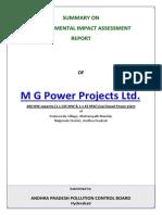 M G Power, Nalgonda Dist. EXE SUM ENG