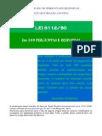 Lei 8112.90 - Em 589 Perguntas e Respostas