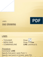 CAD Drawing - Lines