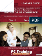 Business Management 621 (Productions and Operations)Bookmarked