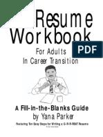 Resume Transition Workbook