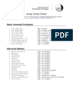 Nmap Cheat Sheet
