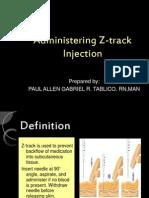Administering z Track
