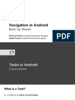 Navigation in Android
