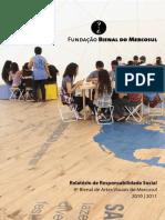 Relatório de Responsabilidade Social – 8ª Bienal do Mercosul