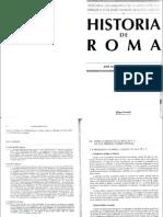 Roldan Hervas, j.m. Historia de Roma