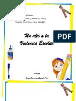 Mi Proyecto de La Violencia Escolar